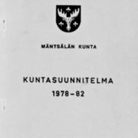 Kuntasuunnitelma 1978-1982