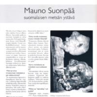 Mauno Suonpää - suomalaisen metsän ystävä