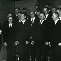 Kuorolaulua Kirkonkylän koululla