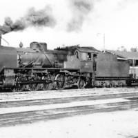 Tavarajuna Iisalmen rautatieasemalla