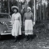 Elsa Haanpää ja Reeta Kinnunen