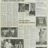 Kiveä monessa muodossa Vakka-Suomen päivillä