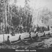 Mäntsälä 400 vuotta : Mäntsälän historiallinen pitäjännäyttely, kylänäyttelyt, juhlavuodeksi kirjoitetut historialliset pienoisnäytelmät, juhlaviikko 4.-11.8.1985 : Osa 1/2