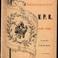 Uudenkaupungin V.P.K. 1866-1906