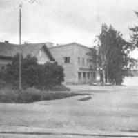 Näköala apteekin mäeltä 1950-luvulla