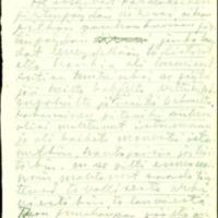 Puut. Osa käsikirjoituksesta vuosilta 1954-1955