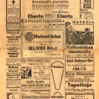 Turun Sanomat 9.7.1911 - Naantalin erikoisnumero