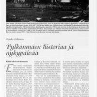 Pylkönmäen historiaa ja nykypäivää