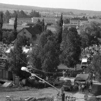 Nummen kylää ilmakuvina