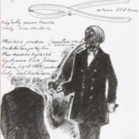 Sivu museon ensimmäisestä diaariosta