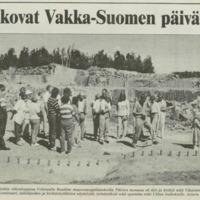 Kivi teemana Vakka-Suomen päivillä