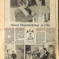 Hänen Majesteettinsa ja Ulla