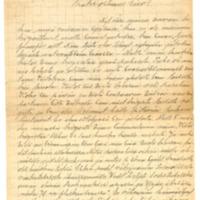Ossian Nymanin kirje Eino Leinolle