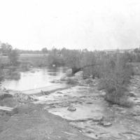 Maisemakuva Karvianjoen Lankoskesta