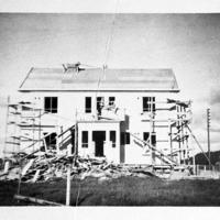Suojan talo rakenteilla