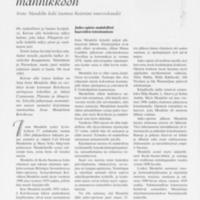 Koivikosta Mannilan männikköön : Irene Mendelin koki Suomen historian murroskaudet