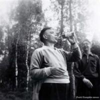 Pentti Haanpää ja Eino Kauppinen