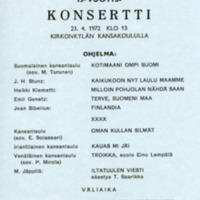15-vuotiskonsertti