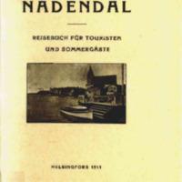 Nådendal : reisebuch für touristen und sommargäste : nebst einer kurzen beschreibung von Åbo