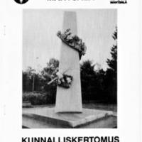 Mäntsälän kunnan kunnalliskertomus 1985