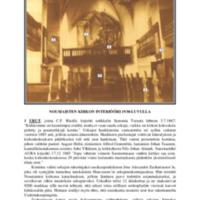 Nousiaisten kirkon interiööri 1930-luvulla