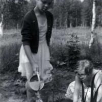 Elsa Haanpää ja Terttu Marttinen