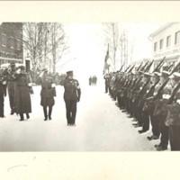 Suojeluskuntatalon vihkiäisistä 1939