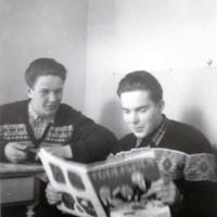 Kalle Haanpää ja Mikko Tinkala