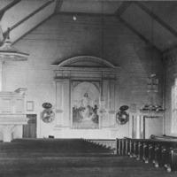 Sisäkuvia Nakkilan vanhasta kirkosta