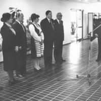 Runnin terveyskylpylän vihkiäisjuhlassa 4.10.1980