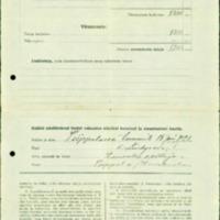 Tilastoja ja muistiinpanoja vuodelta 1927