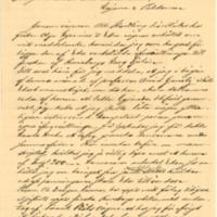 G. L. Söderströmin kirje Eino Leinolle
