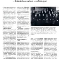 Huittisten Naisyhdistys - toimintaa sadan vuoden ajan