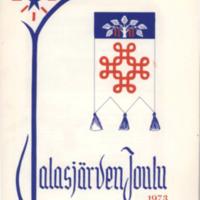 Jalasjärven joulu 1973