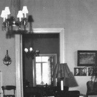 Näkymä pappilasta 1965