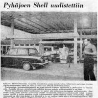 Pyhäjoen Shell uudistettiin