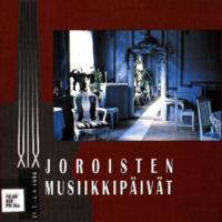 Joroisten musiikkipäivien käsiohjelma 1996