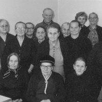 Vanhustenkerho 1963