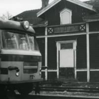 Orimattilan asema Käkelässä 1980-luvun alussa