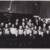 Rautilan kansakoulun oppilaita 1927