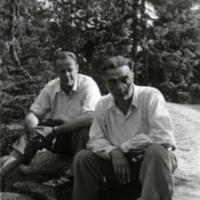 Pentti Haanpää ja Paavo Marttinen