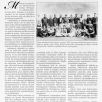 Mustapuron kotipiha-ja kyläurheilun muistelua