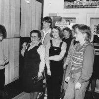 15 1983 Vas. Marja Tauriainen Raili Rytkönen Tarja Saastamoinen Sinikka Lappalainen Sirkka Kasurinen Marja Pylkkänen Tuija Sirviö Leena Huttunen.jpg