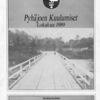 Pyhäjoen Kuulumiset : Lokakuu 1989