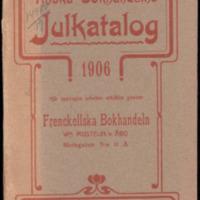 Finska bokhandelns Julkatalog 1906