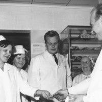 Keiteleen Kaupan uusi kauppias Terho Suomalainen 1966