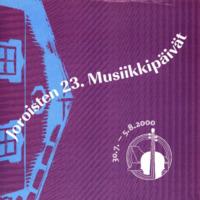 Joroisten musiikkipäivien käsiohjelma 2000