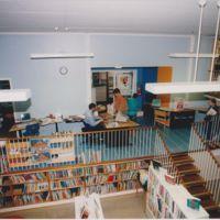 Vasaramäen lähikirjasto 1990-luvulla, Turun kaupunginkirjasto
