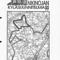 Nikinojan kyläsuunnitelma 1999