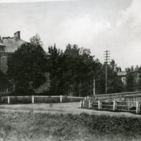 Orimattilan kirkonkylän raittia 1920-luvulla